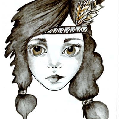 folk girl